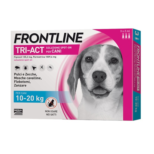 FRONTLINE TRI-ACT SPOT-ON CANE
